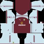 Burnley F.C. Kits 2017/2018 Dream League Soccer