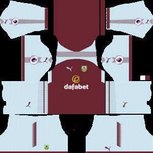 burnley puma home kit 2017-2018