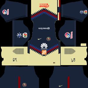 Club America Kits 2017/2018 Dream League Soccer