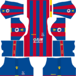 Crystal Palace F.C. Kits 2017/2018 Dream League Soccer