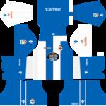 Deportivo de La Coruña Kits 2017/2018 Dream League Soccer