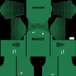 inter milan goalkeeper third kit 2016-2017 dream league soccer