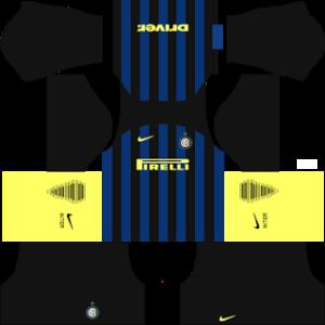Inter Milan Kits 2016/2017 Dream League Soccer