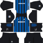 inter milan dls home kit 2017-2018