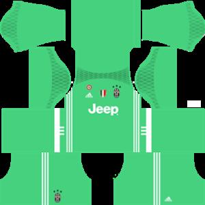 juventus dls goalkeeper away kit 2016-2017