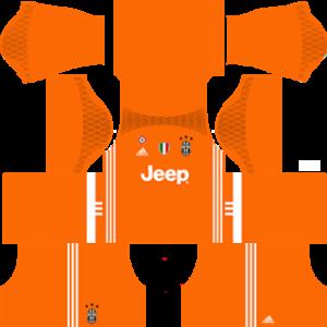juventus dls goalkeeper home kit 2016-2017