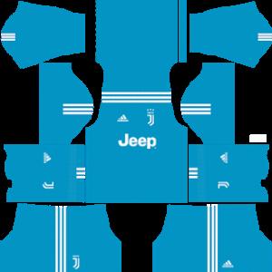 juventus goalkeeper home kit 2017-2018 dream league soccer