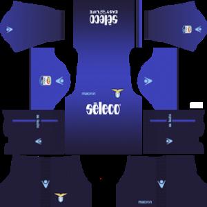 lazio third dls kit 2017-2018