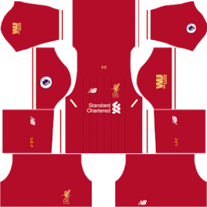 Liverpool Kits 2017/2018 Dream League Soccer
