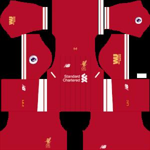 LiverpoolKits 2017/2018 Dream League Soccer