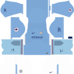 Manchester City Kits 2017/2018 Dream League Soccer