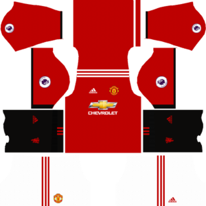 00963a471 Manchester United Kits 2017 2018 Dream League Soccer