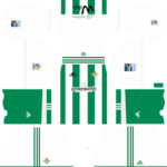 Real Betis Kits 2017/2018 Dream League Soccer