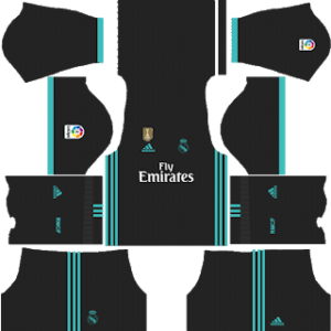 Real Madrid Kits 2017 2018 Dream League Soccer