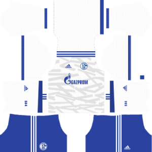 schalke 04 dls away kit 2017-2018
