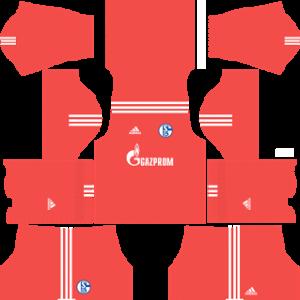 schalke 04 dls goalkeeper away kit 2017-2018