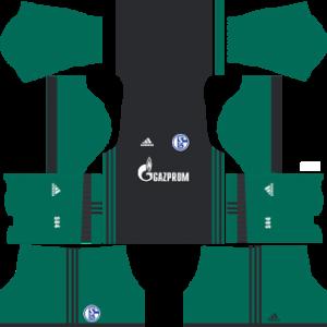 schalke 04 dls third kit 2017-2018