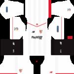 Sevilla FC Kits 2017/2018 Dream League Soccer