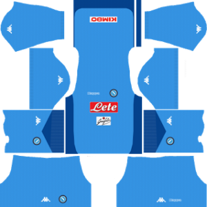 ssc napoli dls goalkeeper home kits 2017-2018