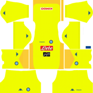 ssc napoli dls kits 2017-2018 away