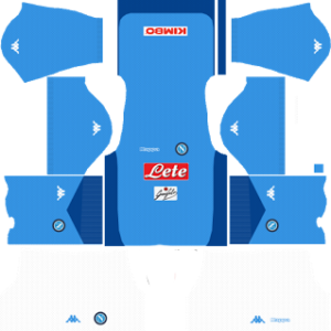 ssc napoli dls kits 2017-2018 home