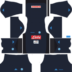 ssc napoli dls kits 2017-2018 third