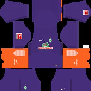 werder bremen DLS Third kits 2017-2018
