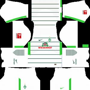 werder bremen DLS away kits 2017-2018
