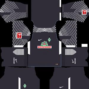 werder bremen DLS goalkeeper Third kits 2017-2018
