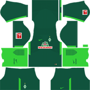 werder bremen DLS home kits 2017-2018