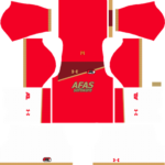 AZ Alkmaar Dream League Soccer Kits 2017/2018
