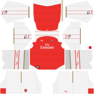 premium selection 7c43a cc79d Arsenal Kits 2015/2016 Dream League Soccer