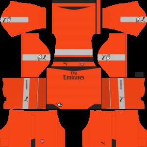 Arsenal DLS goalkeeper third Kit 2015-2016