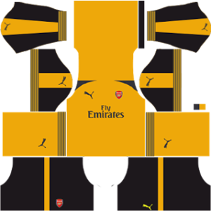 Arsenal dls away kit 2016-2017