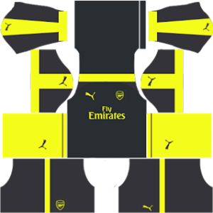 Arsenal dls third kit 2016-2017