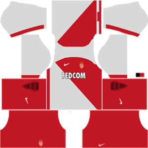 As Monaco dls away kit 2016-2017 (red short)