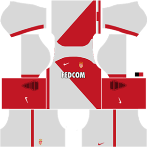 As Monaco dls home kit 2016-2017