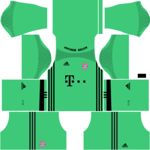 Bayern Munich dls goalkeeper away kit 2016-2017