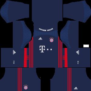 Bayern Munich dls goalkeeper home kit 2016-2017