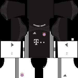 Bayern Munich dls goalkeeper third kit 2016-2017