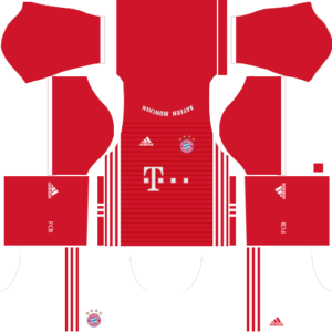 Bayern Munich dls home kit 2016-2017