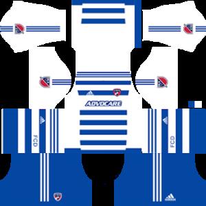 FC Dallas dls away 2016-2017