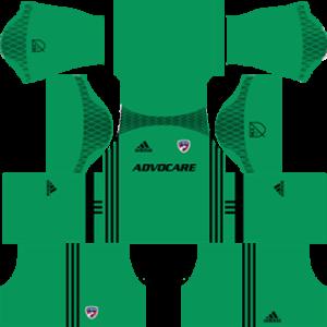 FC Dallas dls goalkeeper home 2016-2017
