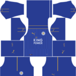 Leicester city dls home kit 2016-2017