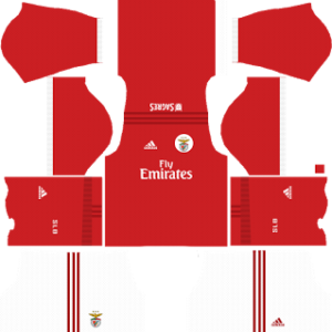 SL benfica adidas dls home kit 2017-2018