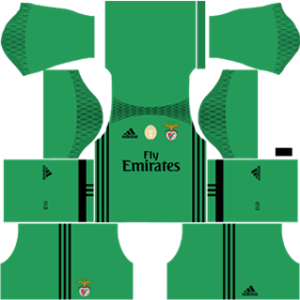 Sl benfica dls goalkeeper away 2016-2017