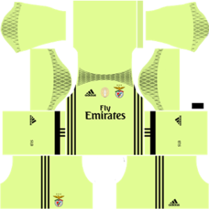 Sl benfica dls goalkeeper home 2016-2017