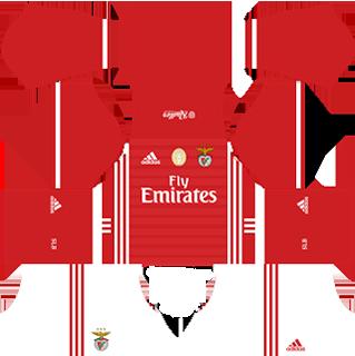 sl benfica fc kits 2016/2017 dream league soccer sl