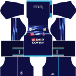 Arema FC Dream League Soccer Kits 2017/2018