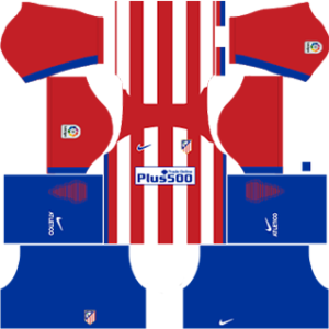 atletico madrid dls home kit 2016-2017